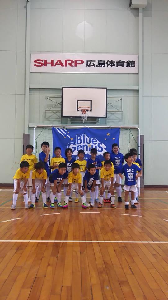 SKCアカデミーのサッカーチームBlue Genius